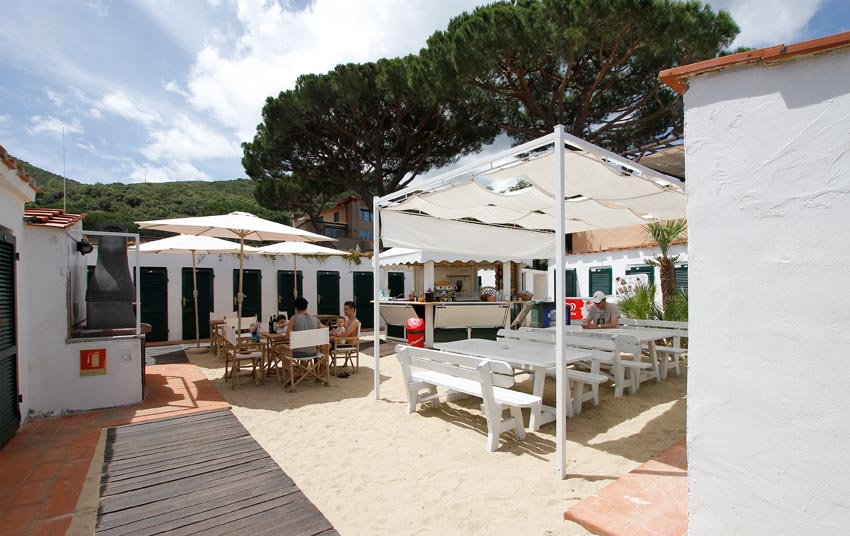 Beach Bar sur la plage